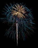 Fireworks Isolated Royalty Free Stock Image