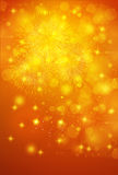Fireworks  launch  background Royalty Free Stock Photo
