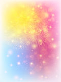 Fireworks  launch  background Stock Images
