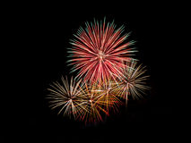 Fireworks. Light up the night sky Royalty Free Stock Photography