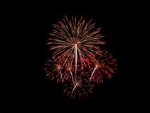 Fireworks. Light up the night sky Stock Photo