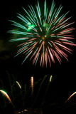 Fireworks light Royalty Free Stock Photo