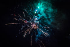 Fireworks. Light up the sky Royalty Free Stock Photo