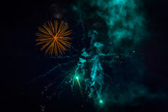 Fireworks. Light up the sky Stock Images