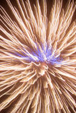 Fireworks light up the sky. For art background Royalty Free Stock Photos