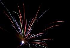 Fireworks Lighting up the Sky Stock Image