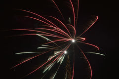 Fireworks. 
