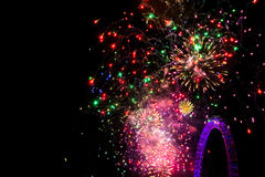 Fireworks  in London Stock Photography