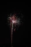 Fireworks lot explosion Stock Photo