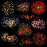 Fireworks. Stock Images