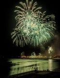 Fireworks Mercy 2013 in Barcelona Stock Photos