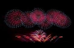 Fireworks in Mqabba - Malta stock images