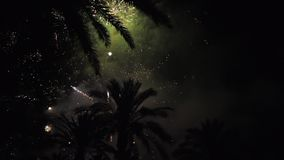 Fireworks multiple. Firework. Colorful fireworks atn holiday night stock video