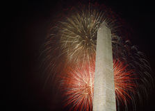 Fireworks on the National Mall Royalty Free Stock Images