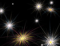 Fireworks new year Royalty Free Stock Images