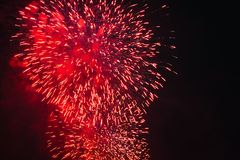 Fireworks at New Year. Celebration Fireworks at New Year Stock Images