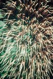 Fireworks at New Year Stock Image