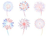 Fireworks stock illustration