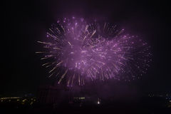 Fireworks, New Years day Royalty Free Stock Photo