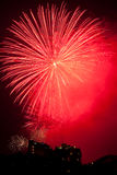 Fireworks on New Years Eve in Sydney, Australia Stock Image