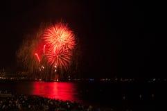 Fireworks,Nice,France Stock Images