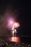 Fireworks,Nice,France Stock Image