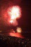 Fireworks,Nice,France Stock Photo
