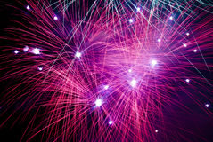 Fireworks in the night Royalty Free Stock Photo