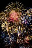 Fireworks at night. Very nice fireworks at night Stock Image