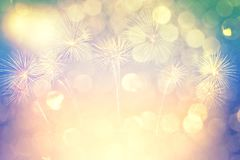 Fireworks Night Light Abstract Background For Christmas And New Year Season. Beautiful Fireworks For Holiday Celebration Royalty Free Stock Images