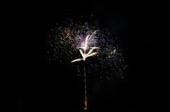 Fireworks at night Stock Photos