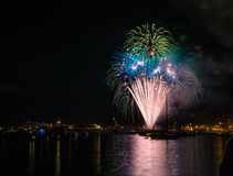 Fireworks during Nighttime Royalty Free Stock Photography