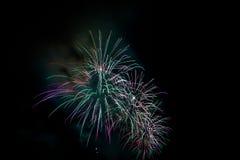 Fireworks NYC Royalty Free Stock Photos