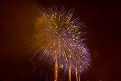 Fireworks NYC Stock Image