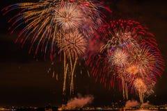 Fireworks NYC Royalty Free Stock Photo