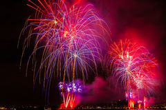 Fireworks NYC Royalty Free Stock Photography