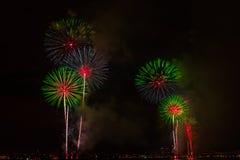 Fireworks NYC Stock Photos