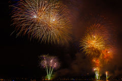 Fireworks NYC Royalty Free Stock Images
