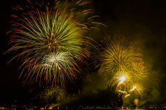 Fireworks NYC Stock Images