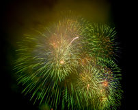 Fireworks NYC Stock Photography