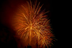 Fireworks NYC Royalty Free Stock Photos