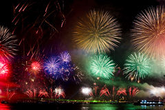 Free Fireworks On Sea Royalty Free Stock Photography - 6902507
