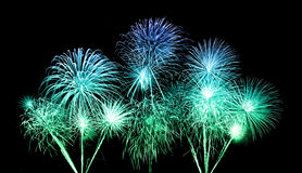 Fireworks over sky Royalty Free Stock Photo