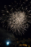 Fireworks Party. October fest with beautiful fireworks Royalty Free Stock Photo