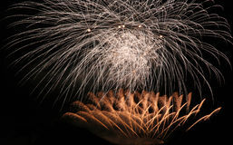 Fireworks party Stock Photo