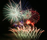 Fireworks party Royalty Free Stock Photography
