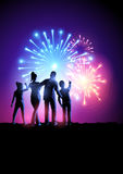 Fireworks Party Royalty Free Stock Photos