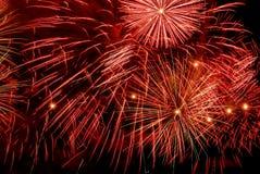 Fireworks pattern royalty free stock image