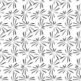 Fireworks pattern. Black on a white background Stock Image