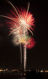 Fireworks Providence Royalty Free Stock Photos